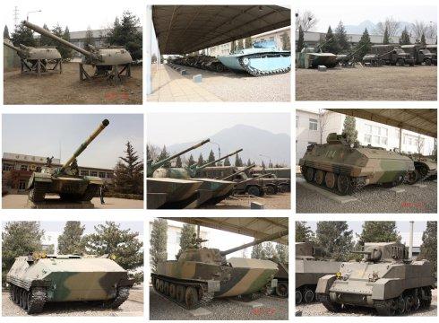 坦克组图(图片来源:大米de妈妈的新浪博客)