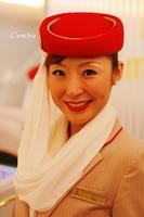 服务于头等舱的北京空姐