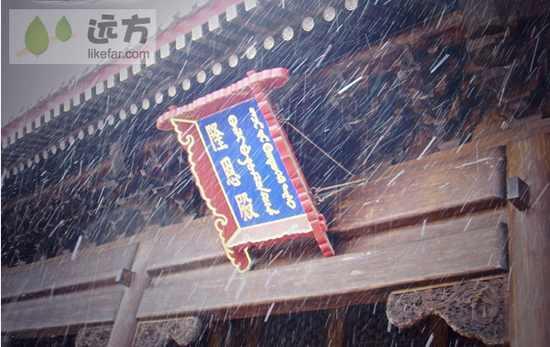 清西陵冬景 作者:欣