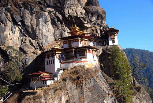 不丹的虎穴寺(