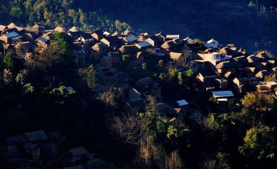 哈尼族村落