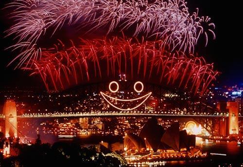 悉尼港跨年夜