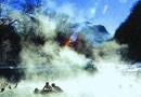 长白山 冰天雪地泡温泉