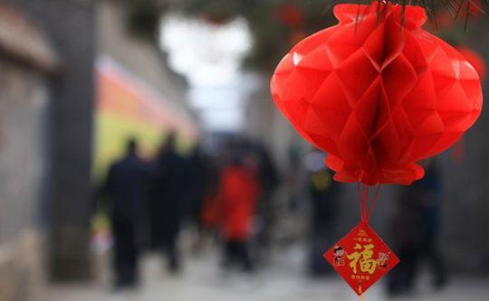 年年红灯笼