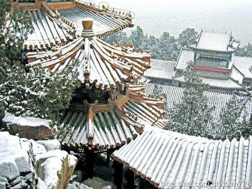 颐和园雪景