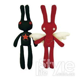 摇滚兔与天使兔