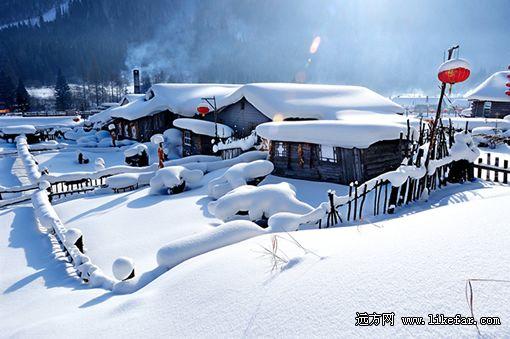 雪乡风情 摄影:余庆章