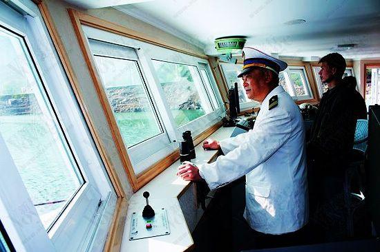 驾船的船长