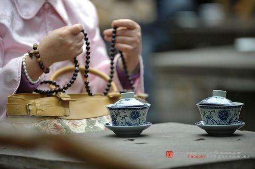 文殊院盖碗茶