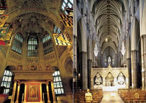 历代国王多次整修、扩建与重建,各种建筑风格混杂