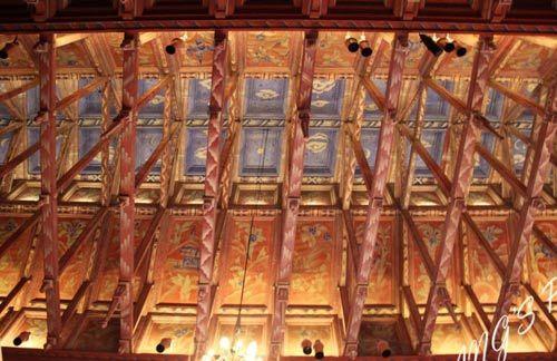 天花板体现了维京人的历史