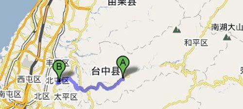 台中-地图