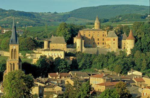 罗纳阿尔卑斯大区位于法国首都巴黎与法国里维拉FrenchRiviera 之间