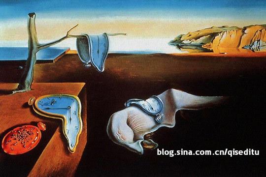 达利最为脍炙人口的画作《记忆的永恒》