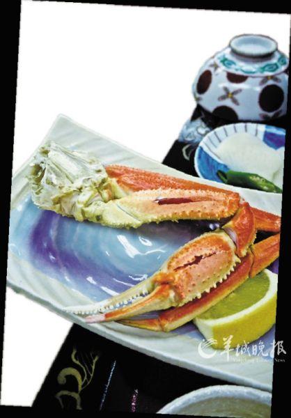 著名的北海道长脚蟹