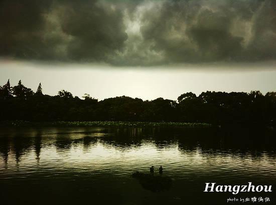 新浪旅游配图:雨后西湖 摄影:血糖偏低