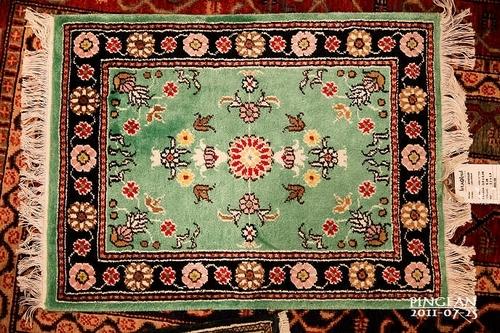 土耳其地毯繁复的花纹