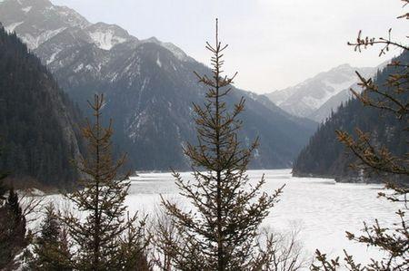 冻结的河流
