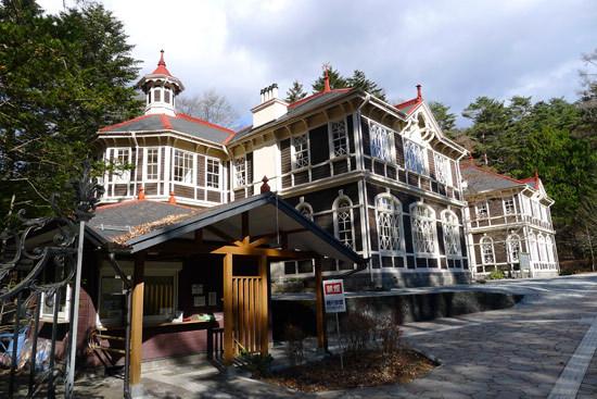著名的欧式建筑 旧三笠