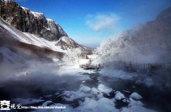 新浪旅游配图:长白山温泉群 摄影:奎子摄影