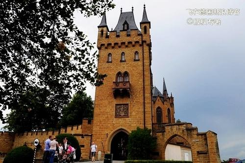 城堡内廷的大门