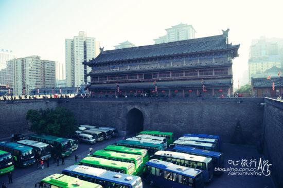 西安老城墙