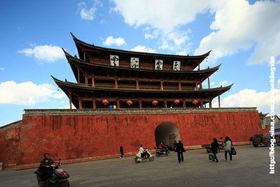 新浪旅游配图:朝阳楼 摄影:北京老夏