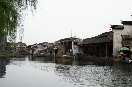 安昌,典型的江南水乡古镇
