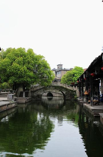 桥是水乡古镇很重要的一部分