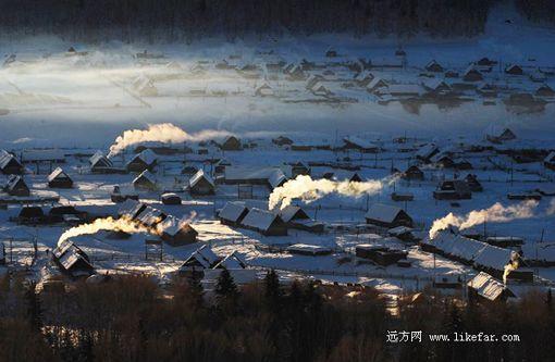 新浪旅游配图:图瓦人村落 摄影:于仲涛