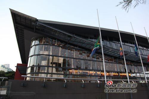 INDABA旅展会场――德班国际会议中心