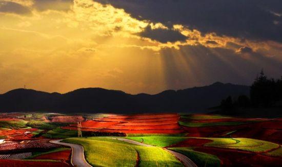 漂亮的红土地