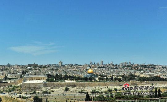 橄榄山上看耶路撒冷老城
