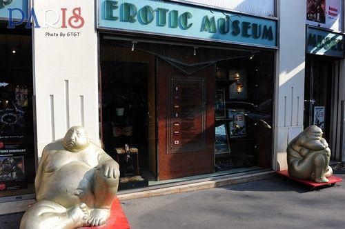 博物馆门口
