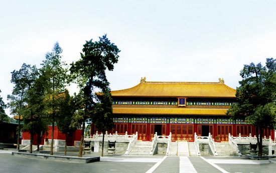 家庙历代帝王庙