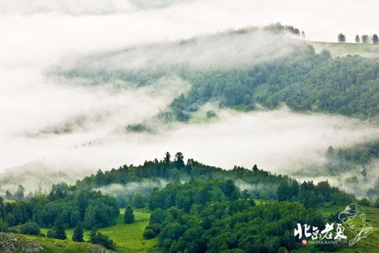 云雾缭绕的胜境