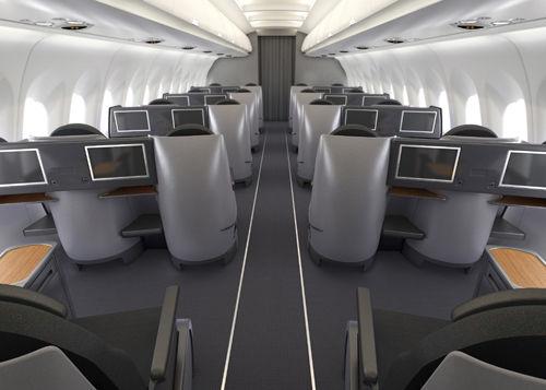 洲际客机商务舱