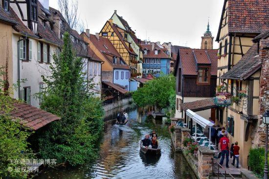 科尔马 最具德国血统的法国小镇