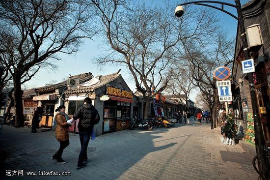 南锣鼓巷纵横之间传统与时尚交汇 李双喜 摄影