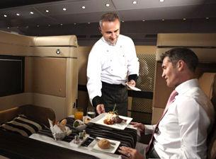 在最奢华的头等舱 享受飞行乐趣