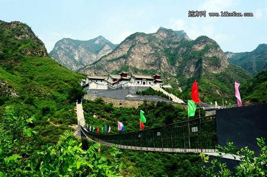 真武庙是圣莲山规模最大的道观 作者:张春华