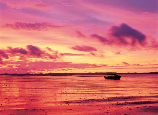 美丽如画的京族三岛海滩 图片来源:鉴明 新浪博客