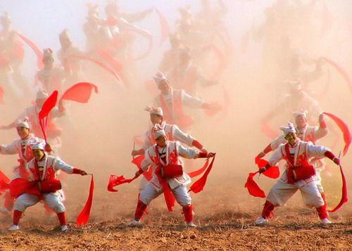 陕北红色革命圣地 安塞腰鼓