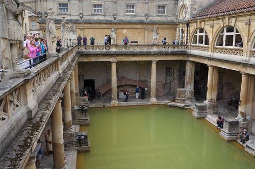 古罗马浴池