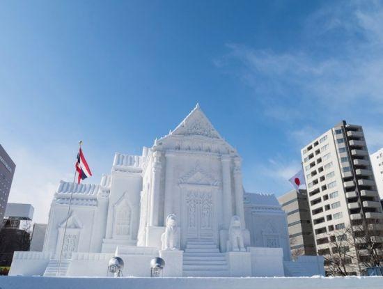 札幌冰雪节图片