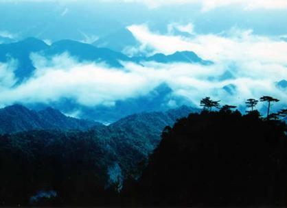 大明山景色迷人 图片来源:新浪网