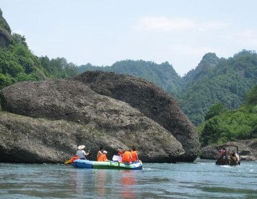 资江漂流,华南第一 图片来源:远方网