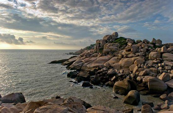 南方水域的呼唤 南麂岛上静心看海