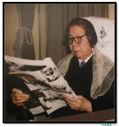 邓颖超的一生是伟大的一生 图片来源:柯特 新浪博客