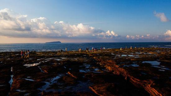 涠洲岛海滩风光(图/ 光影行摄 新浪广西)